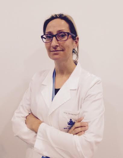 Beatriz Domínguez, cirujana y traumatóloga