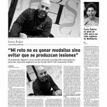 Isaac Rojas: «Mi reto no es ganar medallas sino evitar lesiones»
